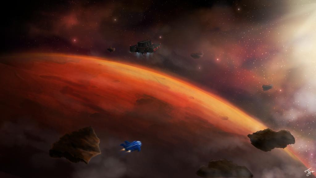 1. red horizon